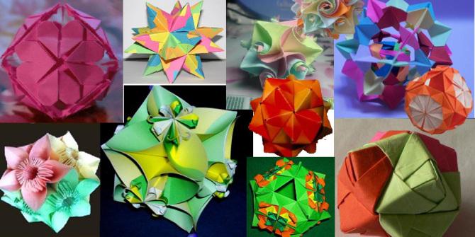 创意手工dry之纸艺篇-传统花球的制作