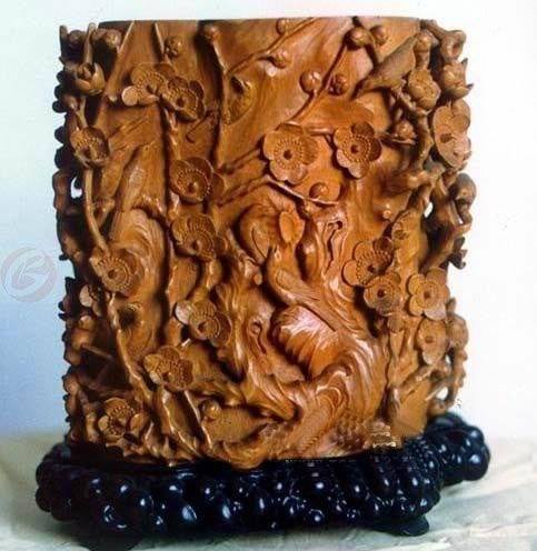 中国木雕艺术精品欣赏